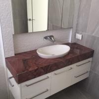 Powder Room in Granite