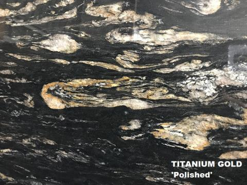 Titanium Gold - Polished